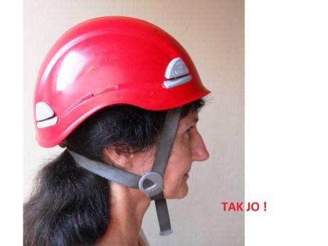 OOPP - ochrana hlavy pro práce ve výškách anad volnou hloubkou