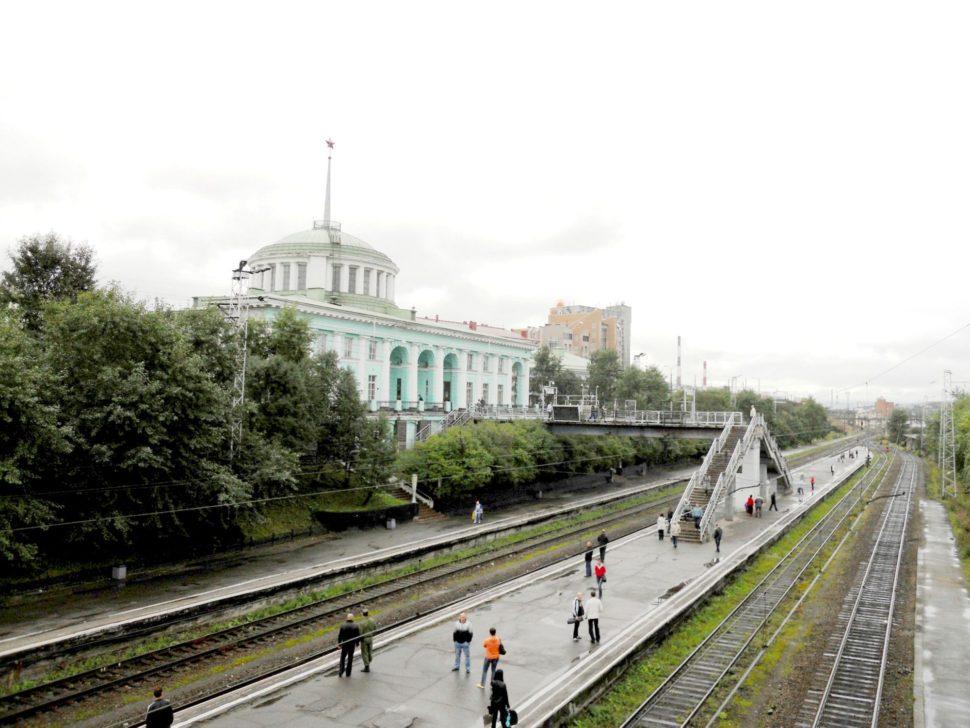 Rusko - Murmansk - vlakové nádraží